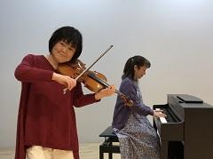 ヴァイオリンと一緒にリトミックA・B